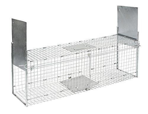 Kerbl 299676 Kastenfalle klappbar mit 2 Eingängen 100 x 28 x 28 cm