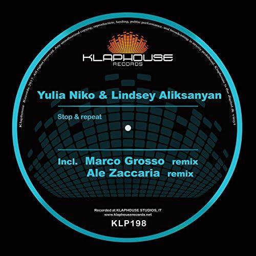 Yulia Niko, Lindsey Aliksanyan, Marco Grosso & Ale Zaccaria