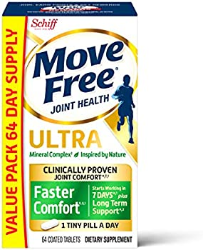 64-Count Move Free Calcium Fructoborate Ultra Faster Comfort Tablets