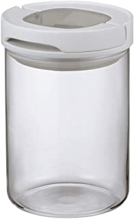 HARIO 密閉キャニスターM MCNJ-200-W ホワイト 実用容量:800ml
