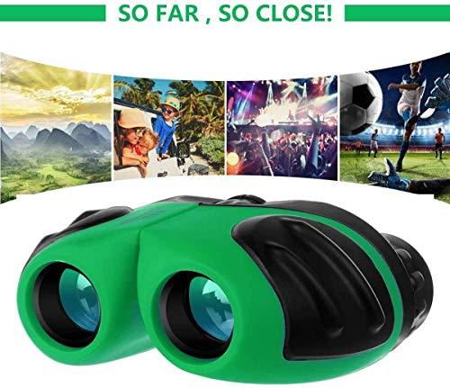 XFF Teleskop Kompaktes Stoßfestes Fernglas Für Kinderspielzeug Für 3-12-jährige Mädchen Zum Beobachten Von Wildtieren Oder Wandern Kinder, Orange