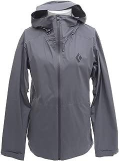 Black Diamond Men's Stormline Stretch Rain Shell Jacket Ash L