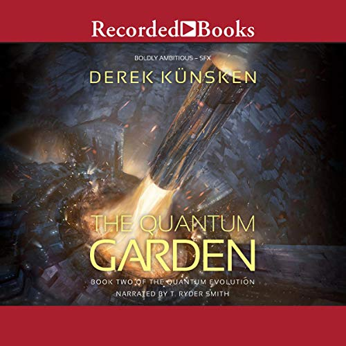 Quantum Garden audiobook cover art