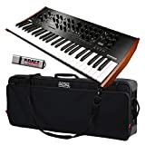 Korg Prologue-8 Polyphonic Analog Synthesizer with Deluxe Carry Bag and Flash Drive