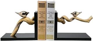 Bookends خمر الزهور والطيور تدفج كتاب الديكور ينتهي لرفوف الراتنج للكتب الثقيلة دفاتر الدعم، سدادات كتاب Book Stand