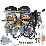 AISENPARTS Carburador Carb de repuesto para Yamaha Raptor 660 660R YFM660 YFM 660 660R CARB 2001-2005