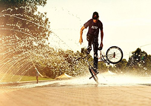 Poster Freestyle BMX Tricks 02
