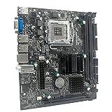 BBDA G41 M-ATX DDR3 con Placa Base Graphy de Doble Canal 8G USB 2.0 SATA integrada para Placa Base de computadora LGA775 / 771 CPU