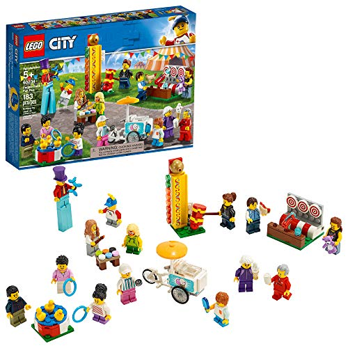 LEGO City People Pack – Fun Fair 60234 Building Kit  (183 Pieces)