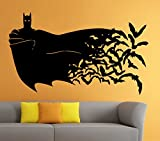 Batman Wall Vinyl Decal Movie Cartoon Sticker Art Mural Home Decor (13b2j)