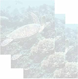 Sea Turtle Sticky Notes - Set of 3 - Wildlife Theme Design - Stationery Gift - Paper Memo Pad - Office and School Supplies