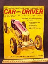 1961 61 June CAR AND DRIVER Magazine (Features: Road Test on Sunbeam Alpine Series II & Lotus XIX, + Driver's report on Aston Martin DT4-GT & Walt Hansgen's Racing 3.8, + Maserati 3500 GT)