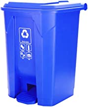 Trash can Pedal Trash Can Outdoor Trash Bin Restaurant School Park Square Large Rubbish Bin Kitchen Green Recycling Waste ...