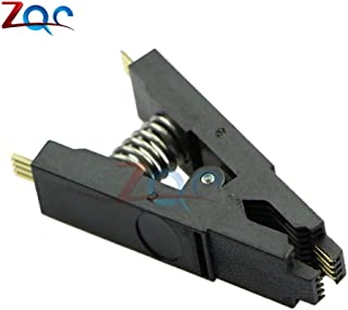 Programmer Testing Clip SOP8 SOP SOIC 8 SOIC8 DIP8 DIP 8 Pin BIOS/24/25/93 Flash Chip IC Socket Adpter Test Clamp