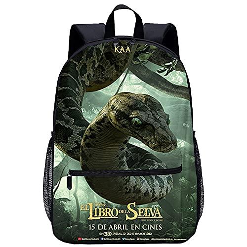 Zaino casual Fantasy Forest Fit Laptop Bookbags da 15,6 pollici Tasca frontale College Schoolbag Kao