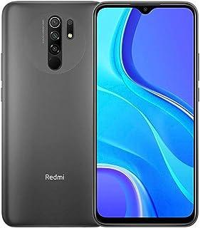 هاتف ريدمي 9 ثنائي شرائح الاتصال - 32 جيجا، ذاكرة رام 3 جيجا، الجيل الرابع ال تي اي، رمادي بلون الكربون