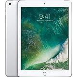 Apple iPad with WiFi + Cellular, 128GB, Silver (2017 Model) (Renewed)