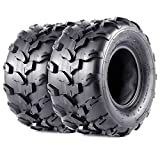 VANACC 2 New 18x9.50-8 Sport ATV Tires 18x9.5x8 4PR Lawn Mower Off-Road UTV Tire