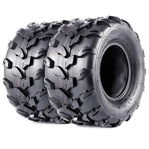VANACC 2 New 18x9.5-8 Sport ATV Tires 18x9.5x8 4PR Lawn Mower Off-Road UTV Tire