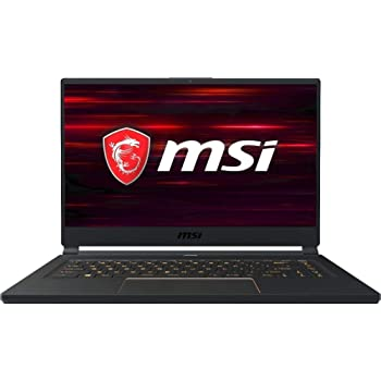 "MSI GS65 Stealth-006 15.6"" 144Hz Ultra Thin and Light Gaming Laptop, Intel Core i7-8750H, NVIDIA RTX 2060, 16GB DDR4, 512GB Nvme SSD, Win10 (Renewed)"