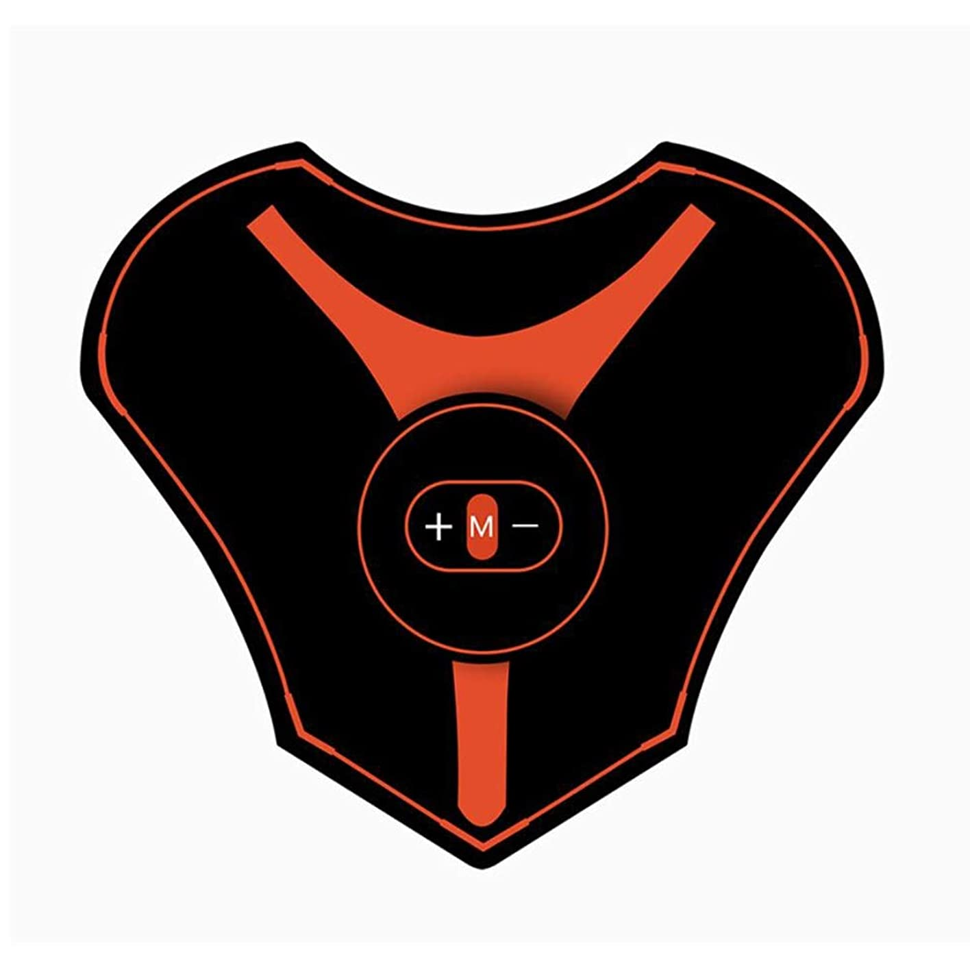 ロゴ有害フラグラントマッサージステッカー ミニEmsネックバックマッサージャーショルダー頚椎マッサージパッド電動体筋肉マッサージ刺激装置頸椎