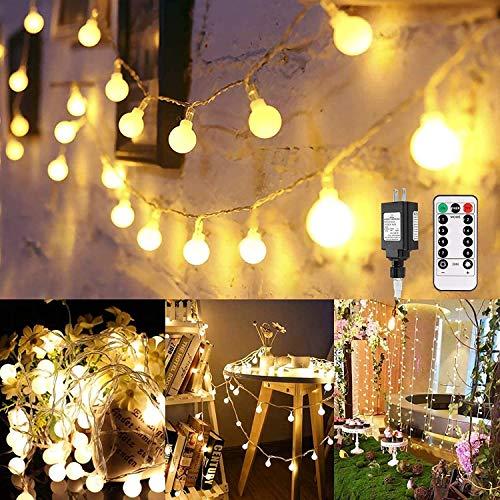 LED String Lights, Greempire 100 LED Outdoor Globe String Lights WaterproofUL...