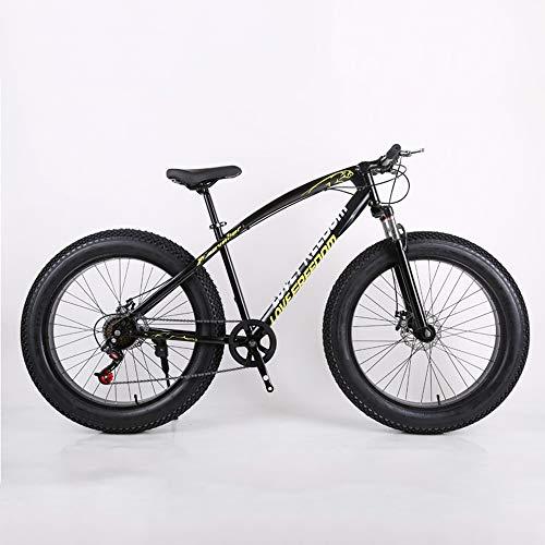 Bikes, Bicicleta de Montaña Todoterreno Playa Nieve 4.0 Neumáticos Grandes Neumáticos Anchos, Cuadro 26', 21 Velocidades, Bicicleta de Ciudad , Bicicleta de Carretera, Bicicleta de Trekking Unisex