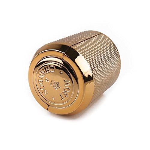 Moet & Chandon Champagne Bottle Stopper Gold Bar Accessory