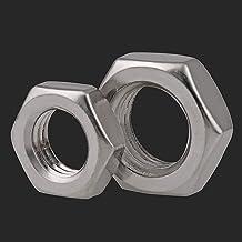 Multifunctioneel HEX Dunne Moer M3 M4 M5 M6 M8 M10 M12 M14 M16 M18 M20 Lock Nuts Flat Hexagon Nuts voor Schroeven: (Size :...