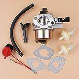 Suave Interruptor carburador Carb Junta de muertes del Manguito de Combustible Filtro Set for Honda GX160 GX200 GX generador y Motor 160 200 168F 5.5/6.5HP Gas Escabroso