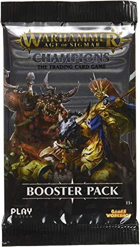 Play Fusion Warhammer Age of Sigmar - Champions - El juego de cartas de trading - Booster Pack