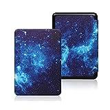 QTSUANNAI Funda para Kindle Kindle Paperwhite 1 2 3, diseño de cielo estrellado, color azul