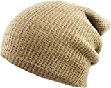 KBW-12 KHK Solid Slouchy Beanie Skull Cap Hat