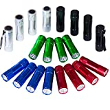 Best LED Flashlights - FASTPRO 20-pack Aluminum 6-LED Flashlights Set with Lanyard Review
