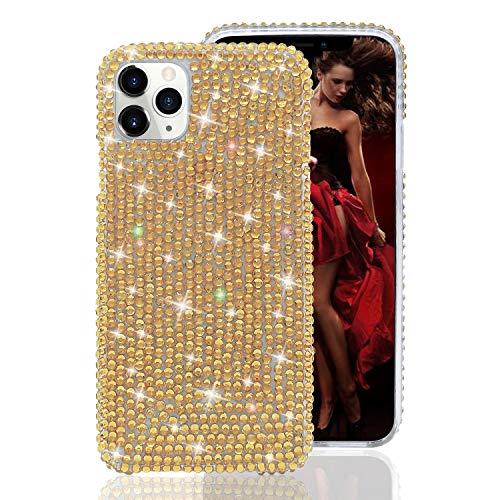 Losin Diamond Case Kompatibel mit Apple iPhone 7 Plus/iPhone 8 Plus 5,5 Zoll Hülle für Mädchen Luxus Handgemachte 3D Bling Bling Bling Bling Diamant Licht Reflecting Strass Schutzhülle