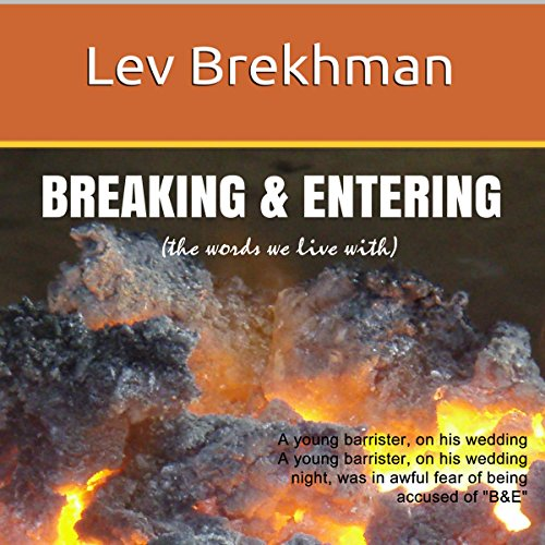 Breaking & Entering cover art