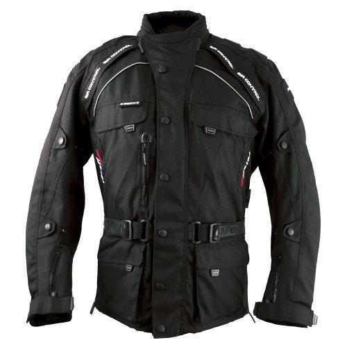 Roleff Racewear 7805 Liverpool Motorradjacke, Größe: XL, Schwarz