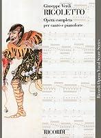 ヴェルディ : オペラ「リゴレット」/リコルディ社/ピアノ・ヴォーカル・スコア