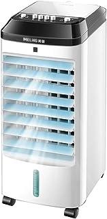 XSJZ Refrigerador Portátil Del Aire Acondicionado, Mini Ventilador Móvil Del Refrigerador de Agua Refrigerador de Agua Hogar Del Dormitorio Solo Ventilador de Enfriamiento Del Tanque de Agua Enfriador