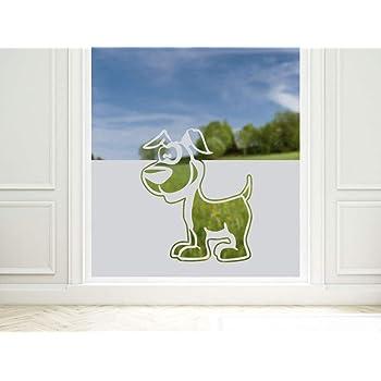 Fensterfolie Sichtschutz Kindergarten Fenster // 100x57cm Sichtschutzfolie Eulen Milchglasfolie Kinderzimmer GRAZDesign Fensterfolie f/ür M/ädchen