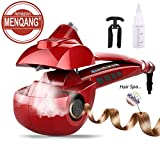 Automatic Hair Steam Curler Ceramic Curling Iron Bar Salon Professional Rotating Styling Steamer...