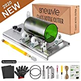 Glass Bottle Cutter Kit, Bottle Cutter DIY Machine for Cutting Round, Square, Oval Bottles and Mason Jars,...