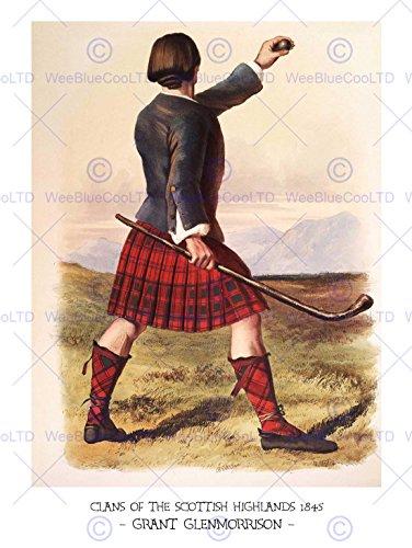 Wee Blue Coo LTD bokklaner skotsk 1845 stipendium konst tryck affisch HP1181