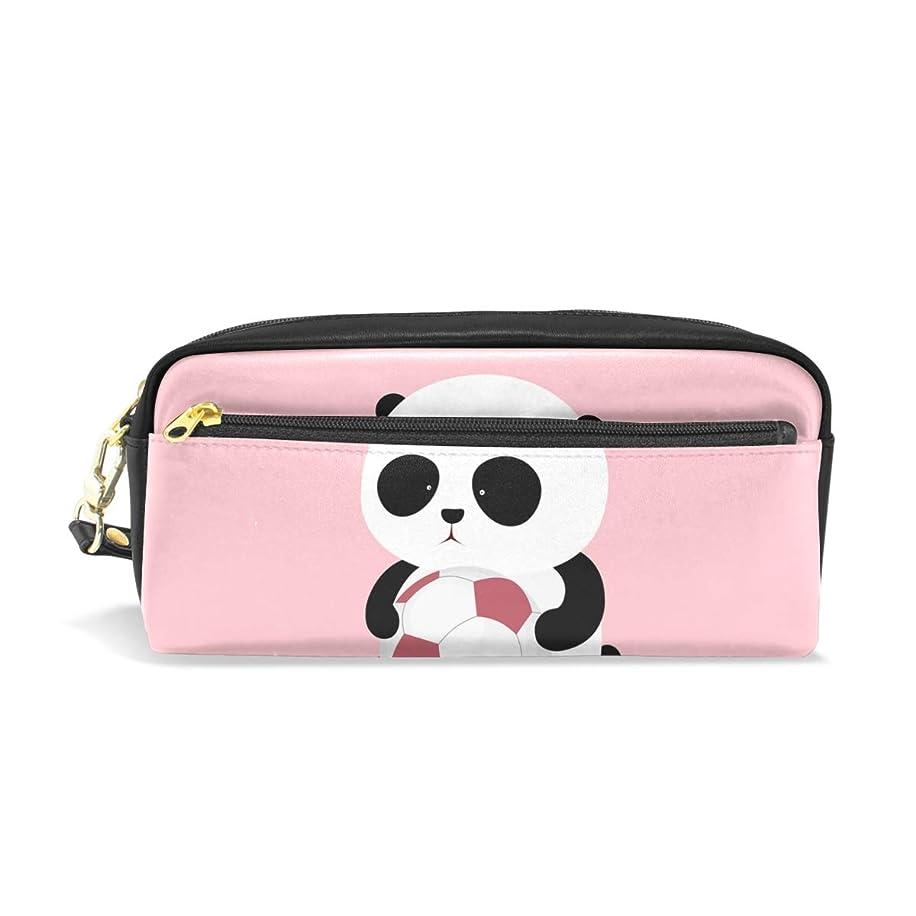 即席急流鼻AOMOKI ペンケース ペンポーチ 化粧ポーチ おしゃれ かわいい 小物入り 多機能バッグ 男女兼用 ギフト プレゼント パンダ Panda 可愛い