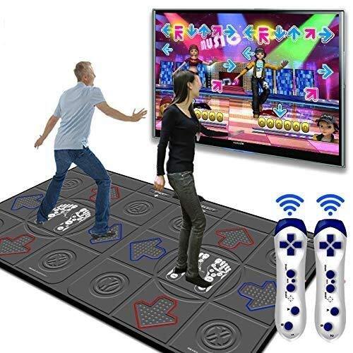 GH-YS Double HD Tanzmatte PU Yoga Gewichtsverlust Massagegerät, Doppelgriff, Geschenk für das Kind, Geeignet für Familienspiele 113