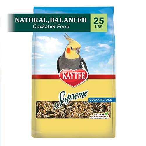 Kaytee Supreme Cockatiel Food 25 lb