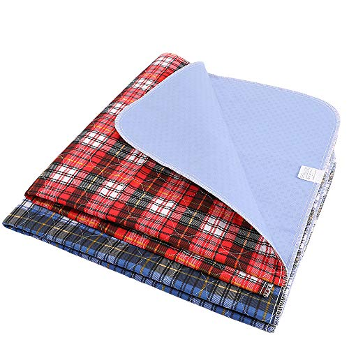 ZISU 2 Pack Washable Pee Pads for Dogs Non Slip Soft Large Size 34