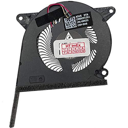 HT ImEx - (versión derecha ventilador compatible con Asus ZenBook S13 UX392FA UHD Graphics 620, UX392FN (GeForce MX150)