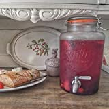 Smith's Mason Jars 5 litros / 1.3 galones dispensador de beb