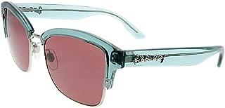Burberry Half Frame Sunglasses For Women, Purple - BE4265 37257554